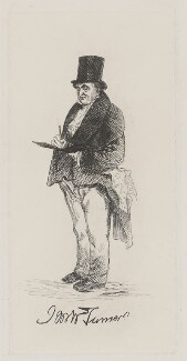 J.M.W. Turner, after Charles Martin - NPG D39435