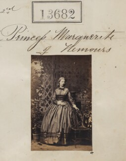 Princess Marguerite Adelaide d'Orleans, by Camille Silvy - NPG Ax63313