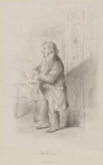 J.M.W. Turner, published by Joseph Hogarth, after  Alfred, Count D'Orsay - NPG D39439