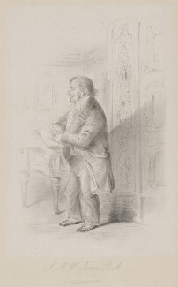 J.M.W. Turner, published by Joseph Hogarth, after  Alfred, Count D'Orsay - NPG D39440