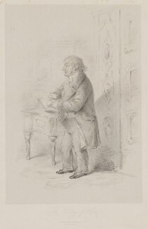 J.M.W. Turner ('The Fallacy of Hope'), published by Joseph Hogarth, after  Alfred, Count D'Orsay - NPG D39441