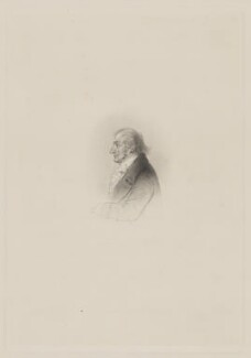 J.M.W. Turner, by Charles William Sharpe, after  Alfred, Count D'Orsay - NPG D39443