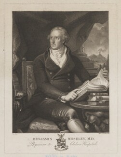 Benjamin Moseley, by Marie Anne Bourlier, after  Richard Morton Paye - NPG D39063