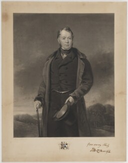 Edward Lloyd-Mostyn, 2nd Baron Mostyn, by Samuel Bellin, published by  Edward Parry, after  William Jones - NPG D39066