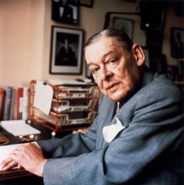 T.S. Eliot, by Ida Kar - NPG x88694