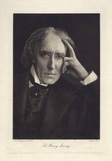 Sir Henry Irving, by Art Photogravure Co Ltd, after  Ernest Walter Histed - NPG x12132