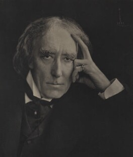 Sir Henry Irving, by Ernest Walter Histed - NPG x12131
