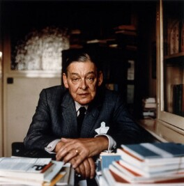 T.S. Eliot, by Ida Kar - NPG x88695
