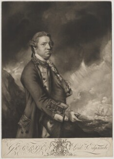 George Edgcumbe, 1st Earl of Mount Edgcumbe, by Edward Fisher, after  Sir Joshua Reynolds - NPG D39073
