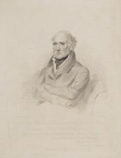 George Sandford, 3rd Baron Mount Sandford, by Frederick Christian Lewis Sr, published by and after  Frederick Newenham - NPG D39075