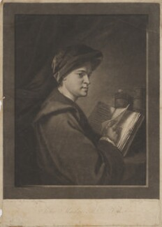 John Mudge, by William Dickinson, after  Sir Joshua Reynolds - NPG D39079