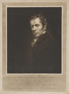 John Opie, by and published by Henry Edward Dawe, after  John Opie - NPG D39358