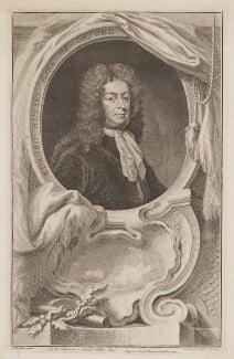Edward Russell, Earl of Orford, by Jacobus Houbraken, published by  John & Paul Knapton, after  Sir Godfrey Kneller, Bt - NPG D39363