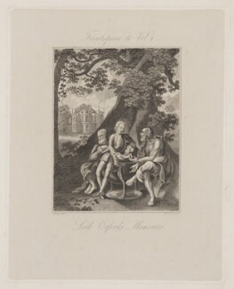 Frontispiece to Vol I of Lord Orford's Memoires (Horace Walpole), by Thomson, after  Bentley, circa 1822 - NPG D39370 - © National Portrait Gallery, London