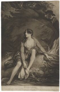 Dorothea, by William Say, published by  Hannah Macklin (née Kenting), after  Theophilus Clarke - NPG D39089