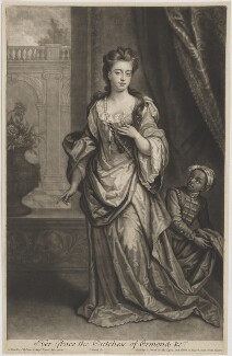Mary Butler (née Somerset), Duchess of Ormonde, by and published by John Smith, after  Sir Godfrey Kneller, Bt - NPG D39374