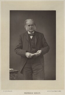 Thomas Henry Huxley, by W. & D. Downey, published by  Cassell & Company, Ltd - NPG x11999