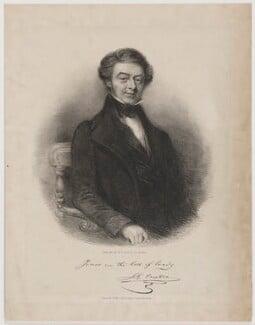 Johann Gerhard Oncken, by John Jewell Penstone, printed by  Nosworthy & Wells - NPG D39375