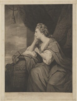 Mary (née O'Brien), Countess of Orkney, by John Dixon, published by  William Wynne Ryland, after  Sir Joshua Reynolds - NPG D39377