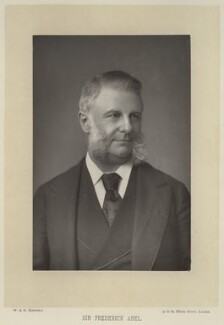 Sir Frederick Augustus Abel, 1st Bt, by W. & D. Downey, published by  Cassell & Company, Ltd, published 1890 - NPG x3 - © National Portrait Gallery, London