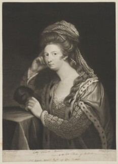 Frances Carpenter (née Manners, later Anstruther), Countess of Tyrconnell, by David Martin, published 1 February 1772 - NPG D39458 - © National Portrait Gallery, London