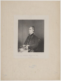 Thomas Murdoch, by Maxim Gauci, printed by  Maguire, Lemercier & Co, after  N. Behnes - NPG D39098