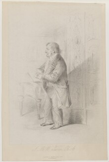 J.M.W. Turner, published by Joseph Hogarth, after  Alfred, Count D'Orsay - NPG D39460