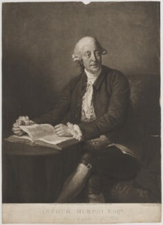Arthur Murphy, by William Ward, published by  John Peter Thompson, after  Nathaniel Dance (later Sir Nathaniel Holland, Bt), published 5 October 1805 (1777) - NPG D39102 - © National Portrait Gallery, London