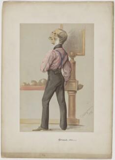 William Godolphin Osborne, by Carlo Pellegrini - NPG D39385