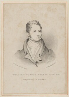 William Turner, by Hannah Sarah Brightwen (née Turner), printed by  Engelmann & Co, after  Thomas Phillips - NPG D39465