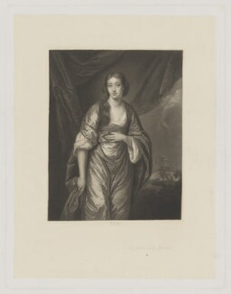 Elizabeth Turner (née Wombwell), by Richard Josey, after  Sir Joshua Reynolds - NPG D39466