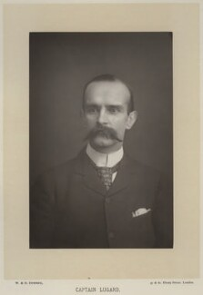 Frederick Lugard, 1st Baron Lugard, by W. & D. Downey, published by  Cassell & Company, Ltd - NPG x20165