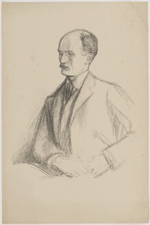(George) Gilbert Aimé Murray, by William Rothenstein - NPG D39111
