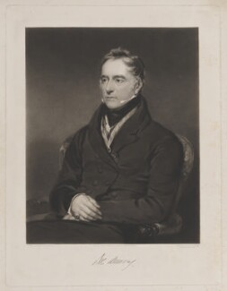 possibly John Samuel Murray, by Thomas Goff Lupton, published by  Alexander Hill, after  Sir John Watson-Gordon - NPG D39114
