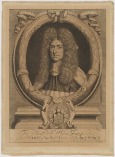 Sir John Turton, by William Sherwin, published by  T. Gibbs, after  Unknown artist - NPG D39469
