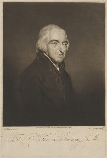 Thomas Twining, by and published by Charles Turner, after  John James Halls - NPG D39475