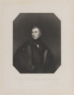 Sir George Murray, by John Cochran, printed by  Wilkinson & Dawe, published by  R. Ryley, published by  James Fraser, published by  Sir Francis Graham Moon, 1st Bt, after  Sir Thomas Lawrence - NPG D39118