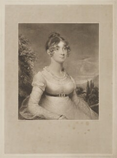 Mary Twining, by Charles Turner, after  Henry Singleton - NPG D39476