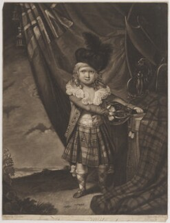 Master Murray, by Philip Dawe, after  John Graham - NPG D39122