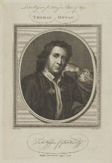 Thomas Otway, by John Goldar, after  Mary Beale, published 6 August 1785 - NPG D39389 - © National Portrait Gallery, London