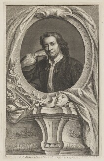 Thomas Otway, by Jacobus Houbraken, published by  John & Paul Knapton, after  Mary Beale, 1741 - NPG D39391 - © National Portrait Gallery, London