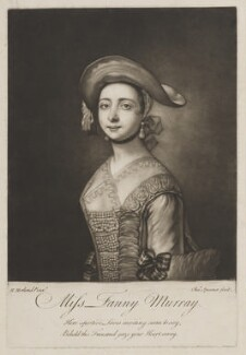 Frances ('Fanny') Murray (née Rudman), by Charles Spooner, after  Henry Robert Morland - NPG D39124