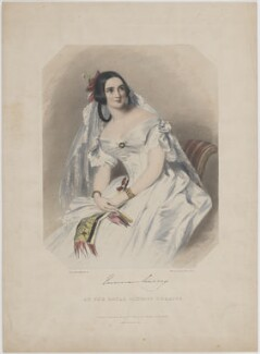 Emma Murray, by (Isaac) Weld Taylor, printed by  Jérémie Graf, published by  Thomas McLean, after  Alfred Edward Chalon - NPG D39126