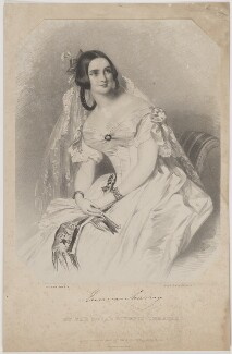 Emma Murray, by (Isaac) Weld Taylor, printed by  Jérémie Graf, published by  Thomas McLean, after  Alfred Edward Chalon - NPG D39128
