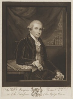 Sir William Musgrave, 6th Bt, by John Raphael Smith - NPG D39132