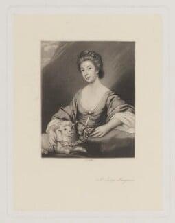 Jane Musgrave, by James Scott, after  Sir Joshua Reynolds - NPG D39136