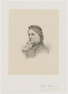 Constance Grosvenor (née Sutherland-Leveson-Gower), Duchess of Westminster, by George B. Black - NPG D37830