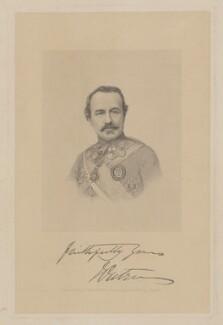 Sir James Outram, 1st Bt, by Joseph Brown, after  Antoine Claudet, 1850s-1860s - NPG D39394 - © National Portrait Gallery, London