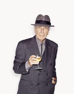 Leonard Cohen, by Venetia Dearden - NPG x134366