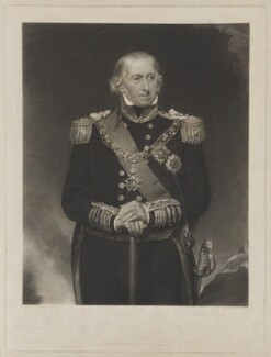 Sir Edward Campbell Rich Owen, by George Thomas Payne, after and published by  Henry William Pickersgill - NPG D39399